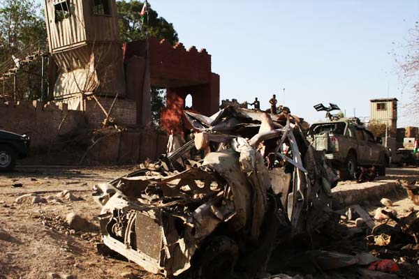 Taliban attack in Afghanistan