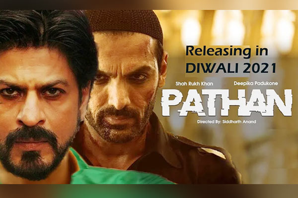 Sources Says Shahrukh, John and Deepika starrer Pathan to come on Diwali 2021