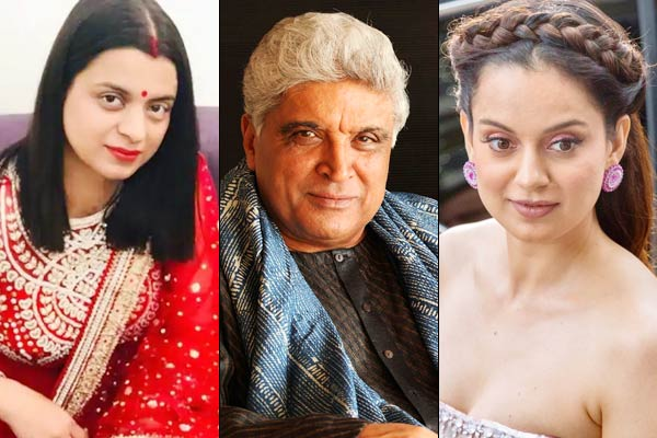 Javed Akhtar Files Defamation Case Against Actress Kangana Ranaut