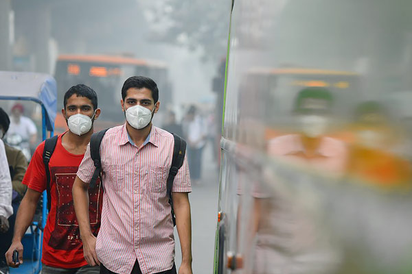 Delhi NCR Did Not Get Relief From Stifling Air Ghaziabad Again The Most Polluted City