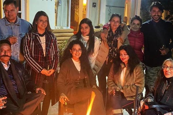 Kangana Ranaut And Sister Rangoli Chandel Shares Photos And Video Of Maharaja Of Nalagarh Host Dinne