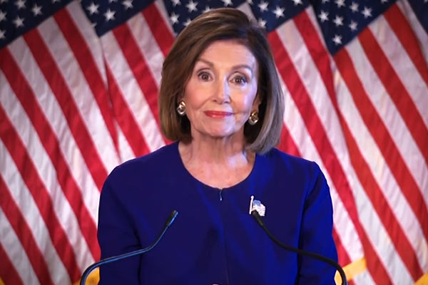 Nancy Pelosi over misinformation spread