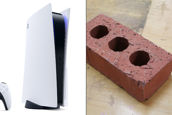 Man receives brick on ordering PS5