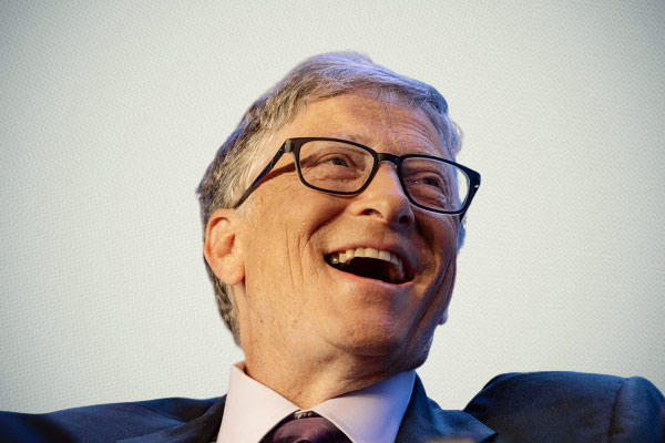 Bill Gates on normalcy