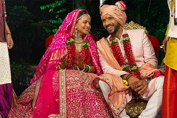 Punit Pathak gets married to Nidhi Moony Singh