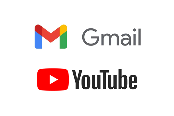 Google Gmail and YouTube Down