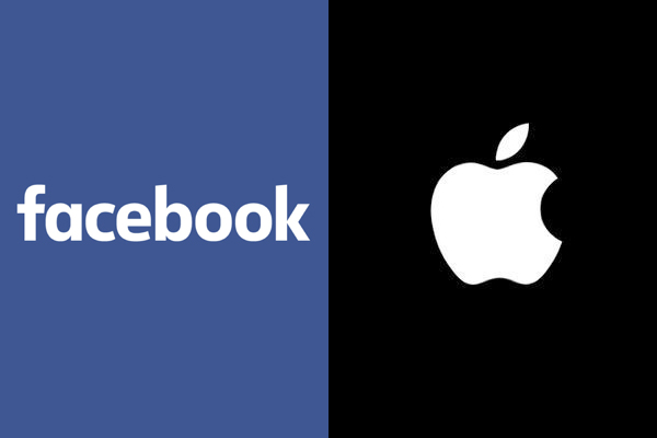 Facebook charges on Apple