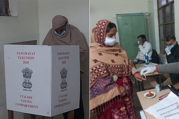 Voting begins for the last phase in Jammu and Kashmir, re-voting on December 21 in two seats of Poon