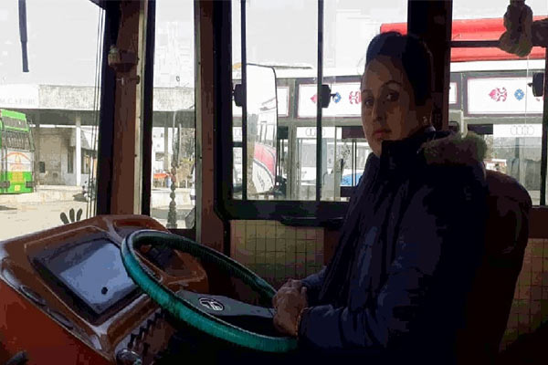 Pooja becomes first woman bus driver of Jammu and Kashmir