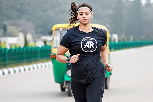 Five Month Pregnant Woman Ankita Gaur Completes TCS World 10k Bengaluru Race In 62 Minutes