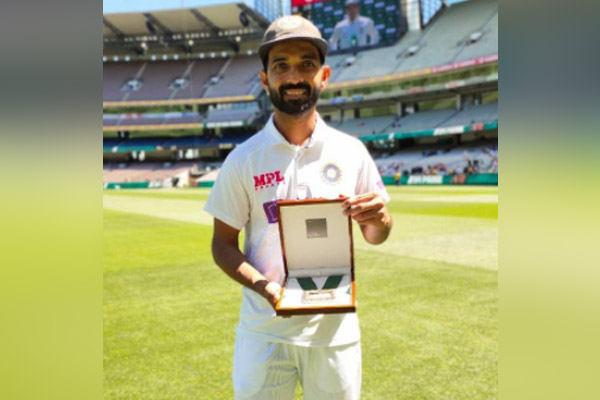 MOM Award for Boxing Day Test