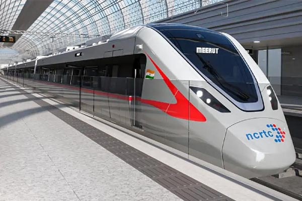 Chinese company will make Delhi-Meerut RRTS