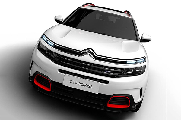 Citroen C5 Aircross All Set To Make Its Indian Debut On February 1