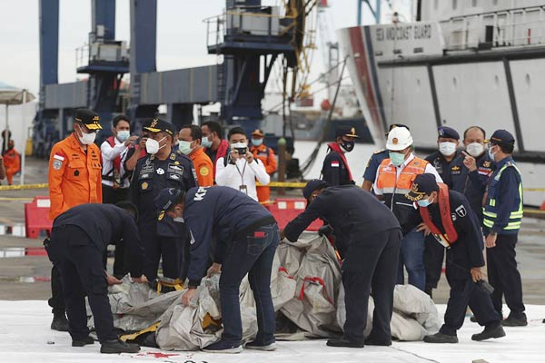 Signals found from the black box of the accident-prone aircraft, human body parts found in the Java