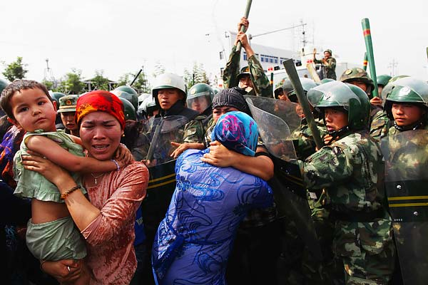 US on Uighurs' genocide by China