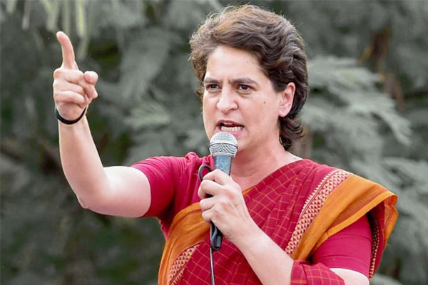 Priyanka Gandhi Vadra Attacks On Bjp Government