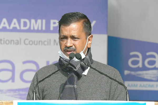 Arvind Kejriwal Announces AAP To Contest Elections In Six States Including UP And Uttarakhand