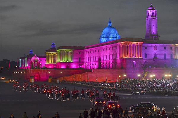 Today many routes will remain closed due to Beating Retreat