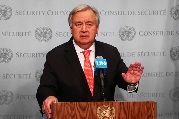 UN Chief on emergency in Myanmar