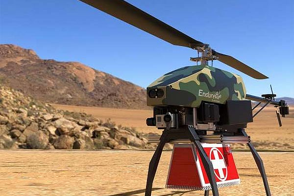 A 4 kg light helicopter has been developed by IIT Kanpur incubated company EndureAir Pvt Ltd