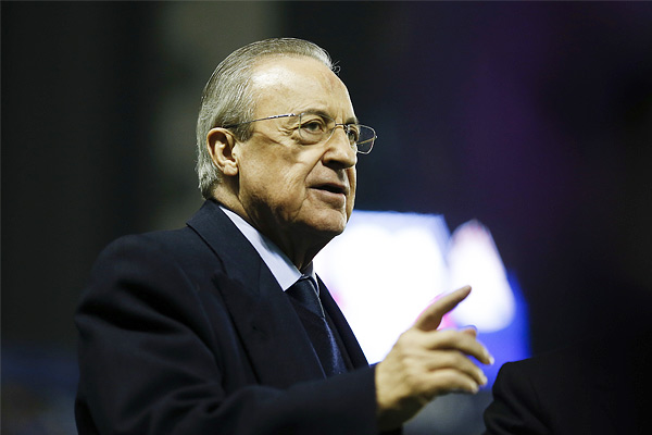 Florentino Perez, 73 year old President of Real Madrid, Corona Positive