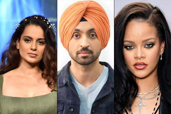 Diljit made a song for Rihanna, told Kangana that does not want to make a song for you