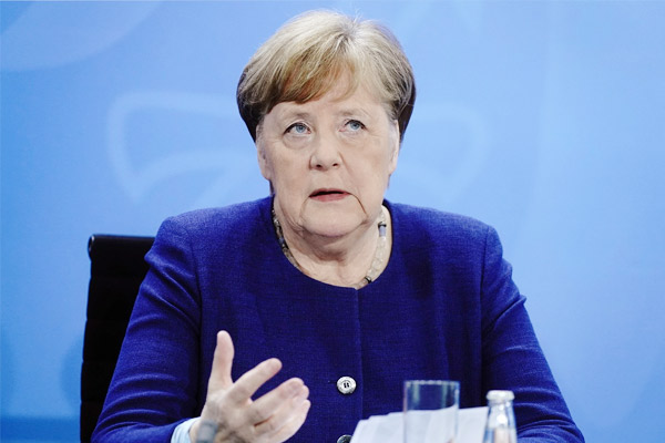 Angela Merkel on decisions to control Covid