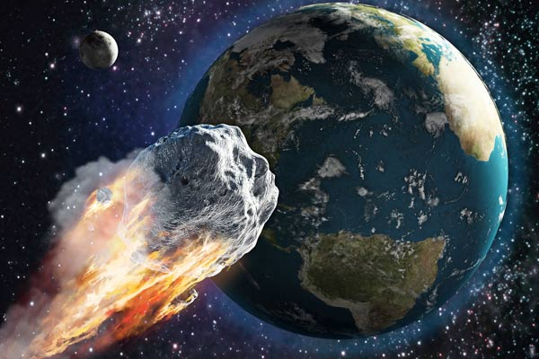 Largest known asteroid to fly past Earth