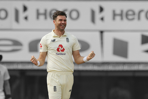 James Anderson Achieves Rare Milestone After Rattling Indias Batting Order in IND vs ENG Chennai Tes