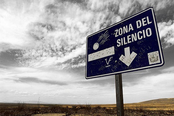 Zone of Silence the place in the world where no electronic device works
