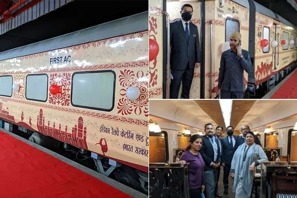 Padhro Rajasthan deluxe AC train service equipped with many facilities started