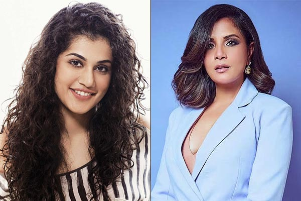 Taapsee Pannu And Richa Chadha Criticized Haryana Agriculture Minister