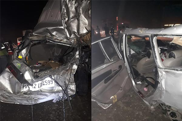 Five killed five injured in road accident on Mumbai Pune Expressway