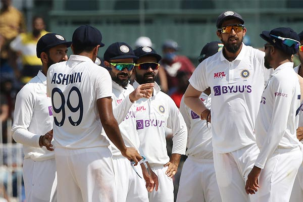 India won against England in second test