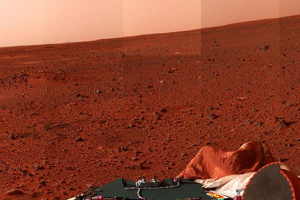 American spacecraft will land on red planet tomorrow to discover life