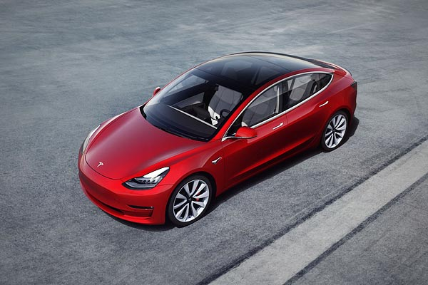 Tesla may first launch Model 3 electric sedan in India