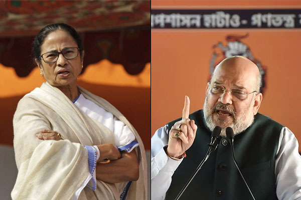 Mamta Banerjee And Amit Shah Will Address Rallies In The Same District Today