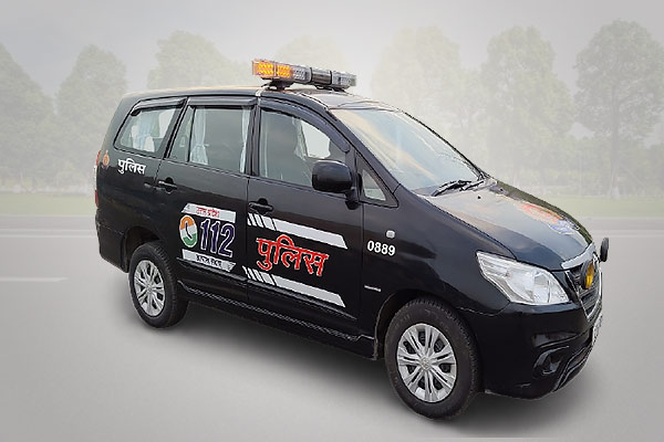 Small cars in UP Police's Emergency fleet