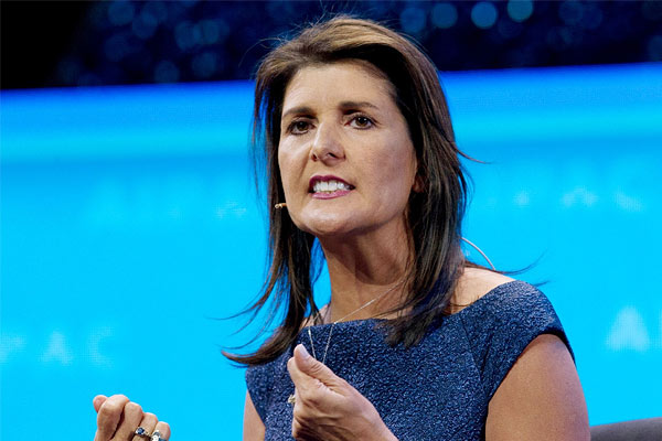 Nikki Haley on Winter Olympics