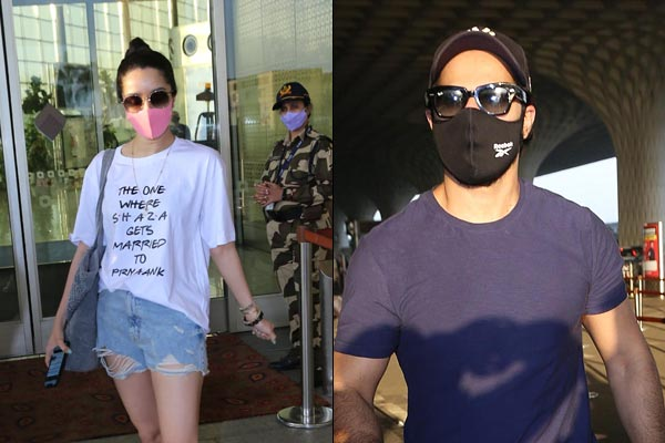 Shraddha Kapoor Varun Dhawan Leaves For Maldives To Attend Their Cousin Wedding