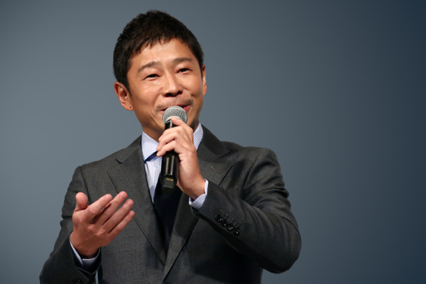 Japanese billionaire offering ride to moon