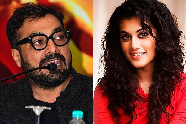 Income tax raid on Taapsee Pannu and Anurag Kashyap's house