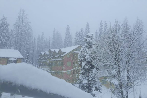 Again Snowfall And Rain In The Mountains From March 5