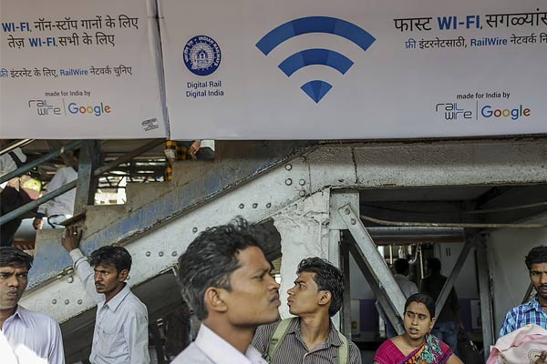 Indian Railways Launch Paid WiFi Plan For High Speed WiFi Facility At Railway Stations