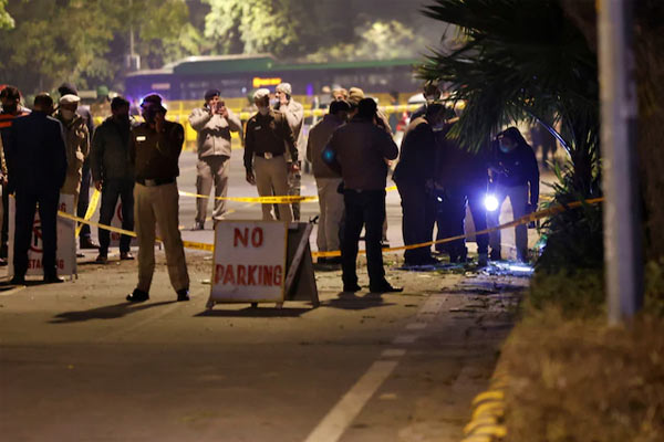 Revealed Irans hand in the blast outside the Israeli Embassy in Delhi