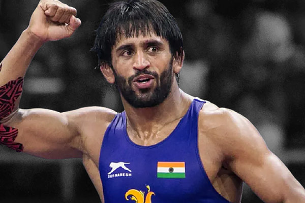 Bajrang Poonia wins gold medal in Matio Palicon Ranking Wrestling Series in Rome