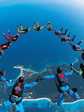 Places in India where you can go skydiving