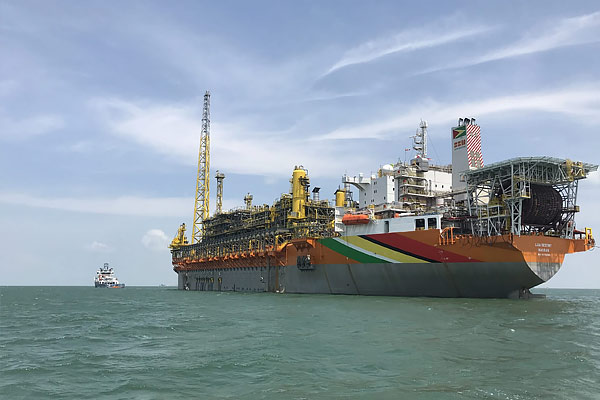 Oil cargo from Guyana to India