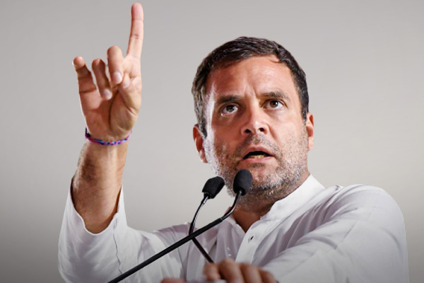Rahul said Satyagraha is the end of injustice oppression and arrogance