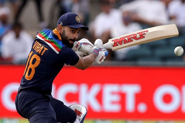 Virat Kohli reached top 5 in terms of most runs scored as captain